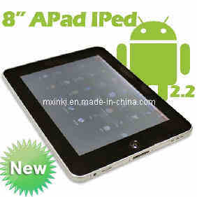"8"" Android 2.2 Tablet PC MID Cortex-A8 1.2GHz 512m 4GB"