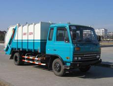 Garbage Truck, Compressing Type