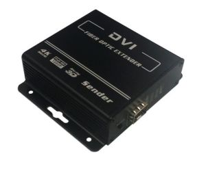 DVI to Fiber Converter with Keyboard and Mouse USB Extender and HDMI Extender (2240) pictures & photos