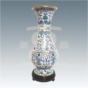 Cloisonne Vase with Underglazeblue (01A55301)