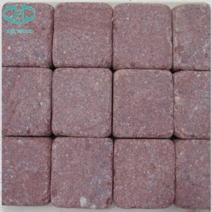 Red Porphyry, Shouning Red, Red Paving Stone, Cobble Stone pictures & photos