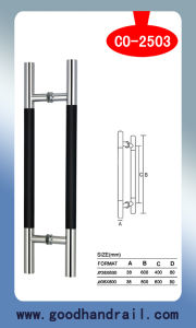 Door Handle (CO-2503) /Glass Door System/Stainless Steel pictures & photos