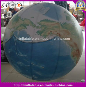 Beautiful LED The Inflatable Earth Model Inflatable Global Balloon for Sale pictures & photos