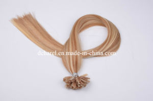 Wholesale Italian Keratin I Tip U Tip V Tip Pre-Bonded Hair Extensions pictures & photos
