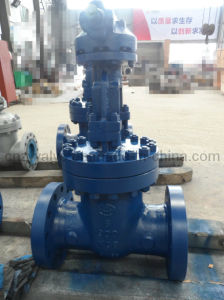 Class 900 High Pressure Wc6 Gate Valve for Industry Pipeline pictures & photos