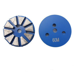 3′′ Diamond Tool Metal Concrete Grinding Shoes pictures & photos