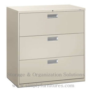 Lockable Steel Lateral Filing Cabinets for Office pictures & photos