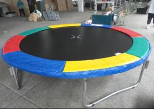 Outdoor -Trampolines with Colored Pad