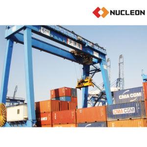Multifunction 50 Ton Heavy Duty Grab Bucket Gantry Crane pictures & photos
