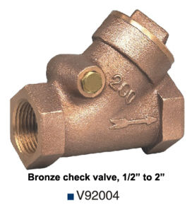 Bronze Sewing Check Valve (V92004) pictures & photos