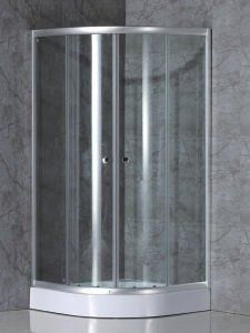 6mm Sliding Stain Shower Doors with Promotional Sales pictures & photos