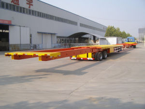 Wind Blade Semi-Trailer Transport for Blade of Wind Generator for Sales