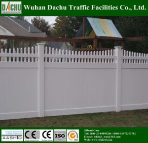 ASTM Certified PVC Coated Vinyl Fence pictures & photos
