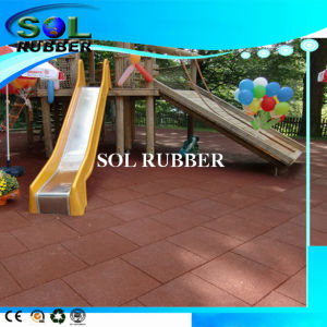 High Quality Ce En1177 Certificated Playground Rubber Floor Mat pictures & photos