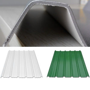 Heat Proof Trapezoid Sunshade Roof Sheet pictures & photos