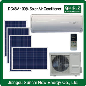 Split Wall Mounted Total DC48V 100 Solar Powered Air Conditioner pictures & photos