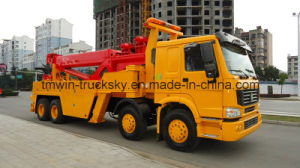 Sinotruck HOWO 8X4 6X4 4X2 Wrecker Truck pictures & photos