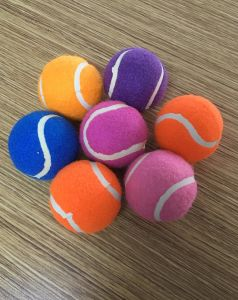 Bright Color Pet Training Tennis Ball pictures & photos