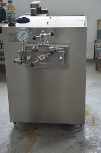 Food Sanitary High Pressure Milk Homogenizer (JJ-1/25) pictures & photos