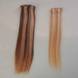 100% Chinese Virgin Remy Hand Made Human Hair Weft pictures & photos