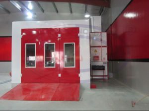 Water Based Car Paint Spray Booth with TUV Approval Wld8400 pictures & photos