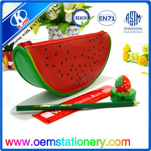 Watermelon Pencil Bag/PU Pencil Bag /Zipper Pencil Bag
