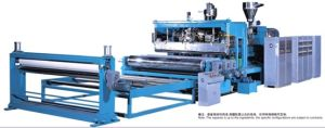 PVB Inter Layer Film Lamination Extrusion Machine pictures & photos