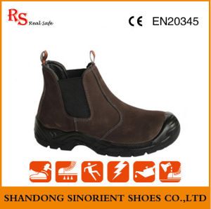 No Lace Brown Safety Shoes RS499 pictures & photos