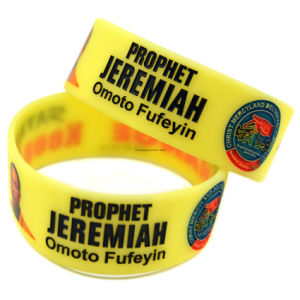 Embossed/Debossed Silicon Rubber Wristband for Promotional Gifts pictures & photos