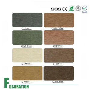 Anti UV Outdoor Composite Decking Plastic Wood WPC Wall Panel pictures & photos
