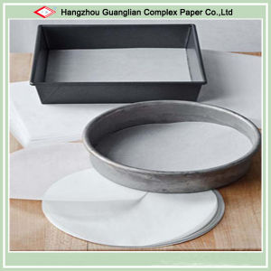 Greaseproof Non-Stick Round Parchment Paper Circles for Cake Tin Lining pictures & photos