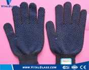 Dsd Safety Latex Coated Work Glove with CE & ISO9001 pictures & photos