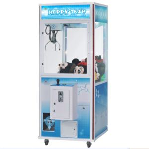 Macrown Toy Crane Machine Happy Trip Gift Machine
