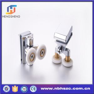 Well-Shaped 45 Degree Zinc Alloy Twin Shower Roller pictures & photos