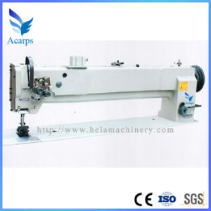 Single/Double Needle Compound Feed Sewing Machine (DU4420-L25) pictures & photos