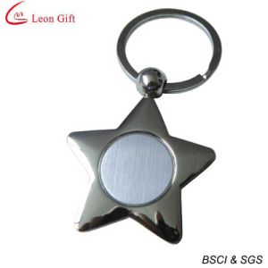Pentagram Metal Laser Key Chain (LM1769) pictures & photos