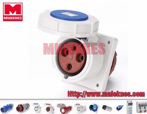 63A 2p+PE IP67 Industrial Socket (MN6332)