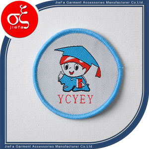 High Definition Brand Logo Woven Patch for Party/Uniform pictures & photos