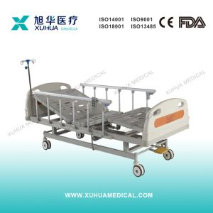 Three Functions Electrical Hospital Patient Bed B pictures & photos