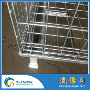 Mesh Gauge 50*50mm Electric Galvanized Wire Mesh Container for Wearhouse Storage pictures & photos