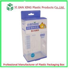 Plastic PP Printing Folding Packaging Box for Feeding Bottle Packaging