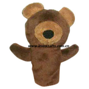 Plush Teddy Bear Hand Puppets for Learing (LE-HP072603)