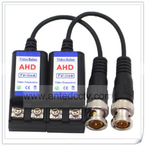 1CH Passive HD-Tvi Cvi Twisted Pair Video Cat5 Cable UTP Balun Transceiver pictures & photos