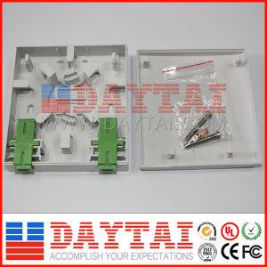 FTTH 2 Port Fiber Optical Socket pictures & photos