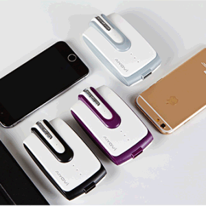 5200mAh a+ Grade Quality Special Designed Portable Power Bank Built-in Headset pictures & photos