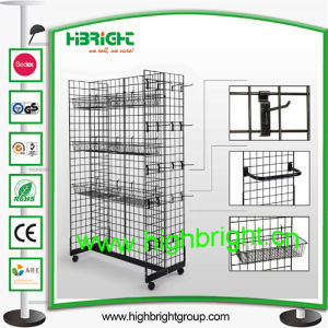 Store Wire Grid Display Rack pictures & photos
