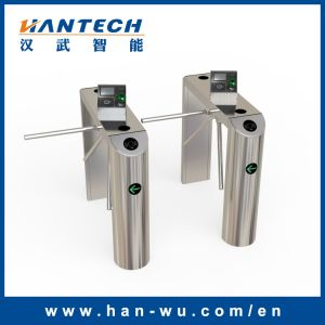 Automatic Waist High Tripod Turnstile Barrier Gate with Three Rollers pictures & photos