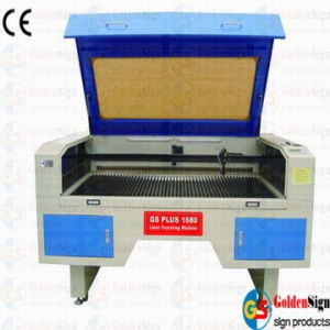 Double-Head Movable Laser Cutting Machine (CE&FDA) Goldensign pictures & photos