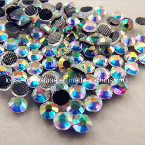 World Stone DMC Crystal Ss20 Ab Color Hot Fix Rhinestone in Grade AAA pictures & photos