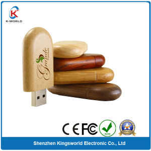Wooden USB Stick with Logo 16GB